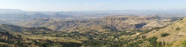 Landscape, Amhara, Ethiopia, Africa Stock Image