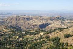 Landscape, Amhara, Ethiopia, Africa Royalty Free Stock Photo