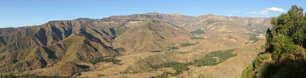 Landscape, Amhara, Ethiopia, Africa royalty free stock images