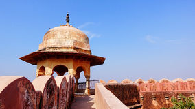Landscape of ancient castle in India Stock Photography