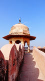 Landscape of ancient castle in India Stock Photo