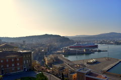 Landscape Ancona port marche Italy Royalty Free Stock Image
