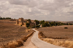 The landscape of Andalusia Stock Photography