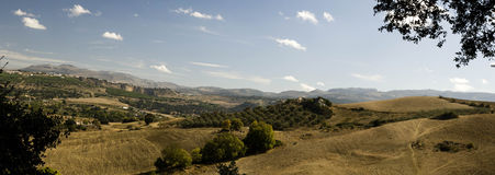 The landscape of Andalusia Royalty Free Stock Photography