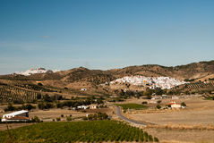 The landscape of Andalusia Royalty Free Stock Images