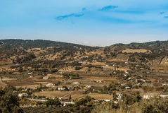 The landscape of Andalusia Royalty Free Stock Image