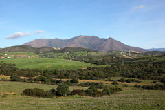 Landscape in Andalusia, Spain Royalty Free Stock Photography