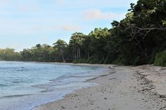 Landscape in Andaman stock photo