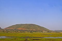 Landscape in Andhra Pradesh Stock Photos