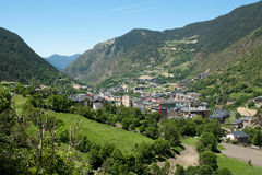 Landscape of Andorra Pyrenees Royalty Free Stock Images