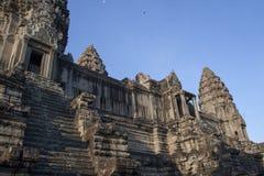 Landscape of Angkor ruins at Siem Reap Stock Photos