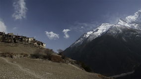 Landscape Annapurna Himalayas. Nepal stock video