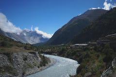 Landscape of Annapurna, Nepal Stock Photo