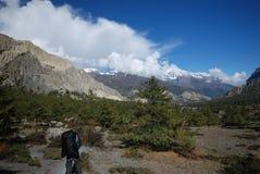 Landscape of Annapurna, Nepal royalty free stock photo
