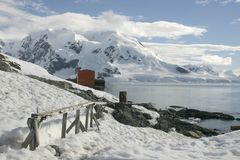 Landscape in Antarctica Royalty Free Stock Images