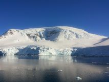 Landscape of Antarctica royalty free stock images