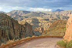 Apache Trail Road. Landscape from Apache Trail Road, Arizona Royalty Free Stock Images