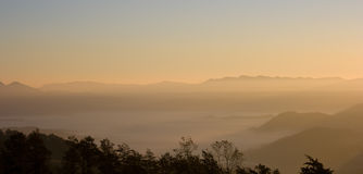 Landscape of Apennines royalty free stock image