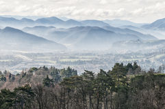 Landscape of the Apennines, Italy Royalty Free Stock Photo