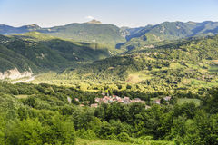 Landscape in the Appennino Stock Images