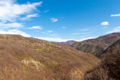 Landscape in the Appennino Royalty Free Stock Photos