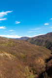 Landscape in the Appennino Stock Photography