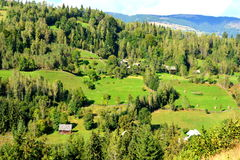 Landscape in Apuseni Mountains, Transylvania Royalty Free Stock Images