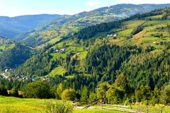 Landscape in Apuseni Mountains, Transylvania Royalty Free Stock Photography