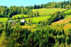 Landscape in Apuseni Mountains, Transylvania Royalty Free Stock Images