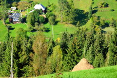 Landscape in Apuseni Mountains, Transylvania Royalty Free Stock Photography