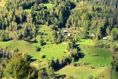 Landscape in Apuseni Mountains, Transylvania Stock Image