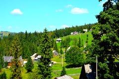 Landscape in Apuseni Mountains, Transylvania Royalty Free Stock Photos