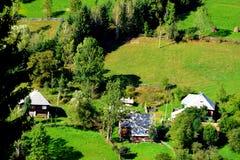 Landscape in Apuseni Mountains, Transylvania Stock Photos