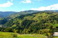 Landscape in Apuseni Mountains, Transylvania Royalty Free Stock Image