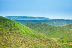 Landscape. A Landscape of Aravali Hills Stock Photography
