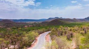 Landscape. A Landscape of Aravali Hills Royalty Free Stock Images