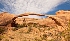 Landscape Arch. In Arches National Park, Utah Stock Photography