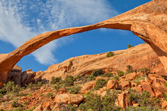 Landscape Arch, Arches N.P. Royalty Free Stock Photography