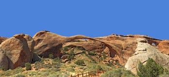 Landscape Arch Arches National Park Stock Photos
