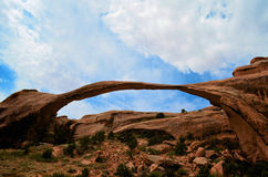 The Landscape Arch royalty free stock photography