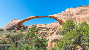 Landscape Arch, Arches National Park, UT Royalty Free Stock Photos