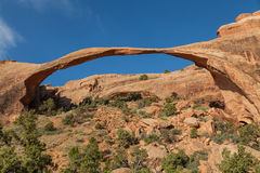 Landscape Arch in Arches National Park Utah Royalty Free Stock Image