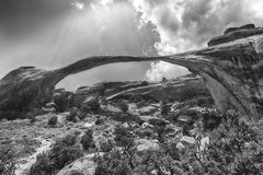 Landscape Arch Royalty Free Stock Image