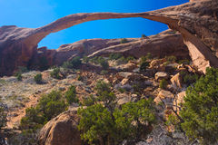 Landscape Arch, Utah Stock Images