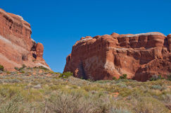 Landscape : Arches National Park Royalty Free Stock Photos