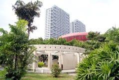 Landscape architecture:  corridor Stock Photo