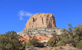 Landscape of Arizona: Square Butte near Kaibito Royalty Free Stock Photography