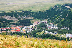 Jermuk city Royalty Free Stock Photo