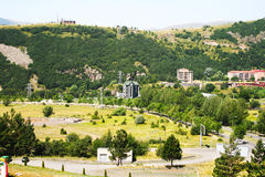 Jermuk city Stock Image