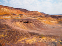 Landscape around Burnt Mountain in namibia Stock Photo